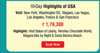10 Day Highlights of USA