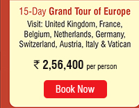 15 Day Grand Tour of Europe