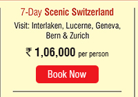 7 Day Scenic Switzerland