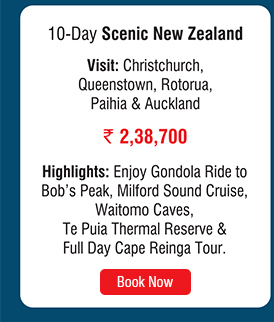 10 Day Scenic New Zealand