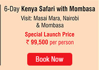 6 Day Kenya Safari with Mombasa