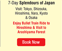 7 Day Splendours of Japan
