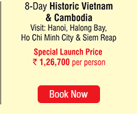 8 Day Historic Vietnam & Cambodia