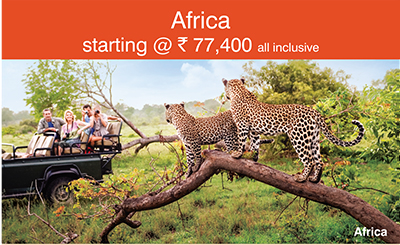 Africa starting @ Rs. 77,400 all inclusive