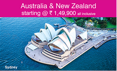 Australia & New Zealand starting @ Rs. 1,49,900