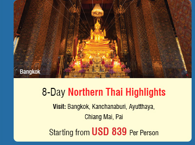 8 Day Northern Thai Highlights
