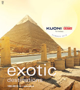 Exotic Destinations Summer 2016